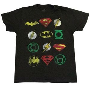 DC Comics Justice League Graphic Tee T-Shirt S